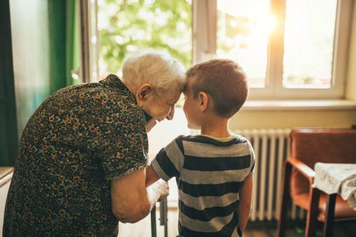 Mummo ja poika